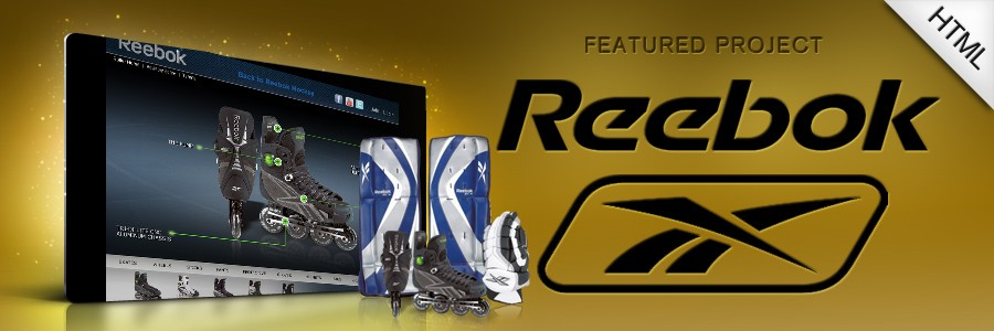 Reebok Roller Hockey Website